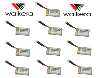 Picture of x10 COMBO 3.7v 240mAh 25c Lipo Battery Walkera (Mini-CP-Z-17)