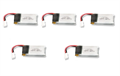 Picture of 3.7v 350mAh 25c LiPo Batteries 5 pack