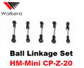 Picture of Walkera Super CP Ball Linkage Set HM-Mini CP-Z-20