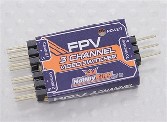 Picture of 3-Channel FPV Video Switcher