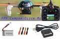 Picture of FPV QR LadyBird V2 RTF w/ Devo F4 Transmitter/Receiver UFO QuadCopter