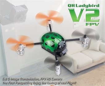 Picture of FPV QR LadyBird V2 BNF ONLY