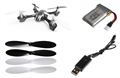 Picture of Hubsan X4 H107 Quadcopter BNF w/ Extrtas