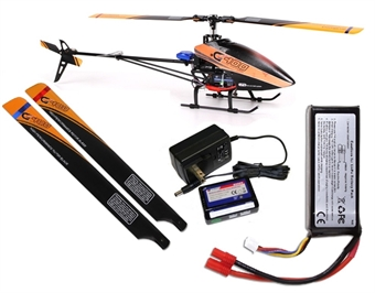 Picture of Walkera G400 FORECAST GPS series 3D Helicopter BNF PRE-ORDER