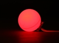 Picture of LED PCB Strobe RED 3.3~6.0V with Ball Diffuser (Ping Pong Ball)
