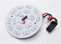 Picture of Red 16 LED Circular Light Board with Lead