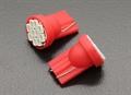 Picture of Red LED Corn Light 12V 1.5W (10 LED) (2pcs)