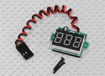 Picture of On-Board LED RX Voltage Display