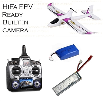 Picture of Walkera Hifa 5.8Ghz FPV Plane with Devo F7 Tx