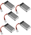 Picture of Hubsan X4 H107D Batteries 3.7v 380mAh 25c LiPo FPV 5X Battery