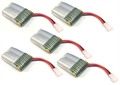 Picture of Estes Dart Quadcopter Battery Batteries 3.7v 240mAh 25c LiPo 5X