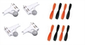 Picture of Walkera QR W100 Motor Propeller Blades Combo Set Counter-Clockwise, Clockwise
