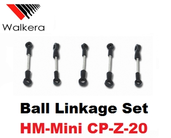 Picture of Geni CP Ball Linkage Set Geni CP Helicopter HM-Mini CP-Z-20 Parts