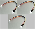 Picture of 3 x JST-XH 4S Balance Wire Extension Battery Adapter Cable LiPo Connector