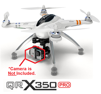 Picture of Walkera QR X350 PRO FPV with G-2D Gimbal NO CAMERA or TRANSMITTER  BNF ONLY