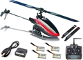 Picture of Walkera Mini CP 3D Helicopter Devo 7 Transmitter 4 Batteries Charger