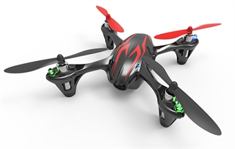 Picture of Hubsan X4 H107C Camera Quadcopter BNF ONLY (black with red stripes)