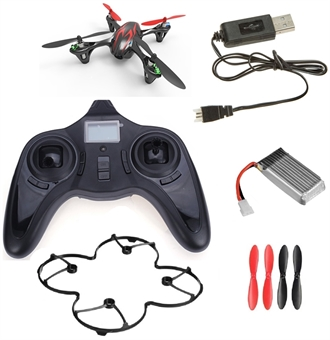 Picture of Hubsan X4 H107C Camera Quadcopter RTF (black with red stripes)