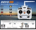 Picture of Walkera V100D03BL Devo 10 Transmitter Controller Remote Control