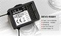 Picture of Walkera QR X350 FPV 5.8Ghz RX801 RC 8CH RX Receiver for Devention Devo TX 2.4Ghz