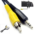 Picture of Walkera QR X350 FPV 5.8Ghz CVBS Composite Video RCA Wire Cable for Goggles/TV Screen
