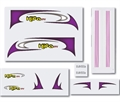 Picture of Walkera Hifa 5.8Ghz FPV Sticker Set HiFa-Z-05 FPV RC Plane Stickers