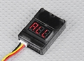 Picture of JXD JD-385 LiPo Battery Low Voltage Alarm Buzzer Tester Checker 1S-8S