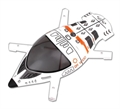Picture of Walkera QR W100S Wifi Upper Body Cover Part # QR W100-Z-01 Quadcopter Shell