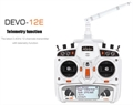 Picture of Walkera V100D08 Devo 12E Radio Transmitter and FPV Receiver 12CH Telemetry Capable