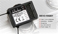 Picture of DJI S800 RX801 RC 8CH RX Receiver for Devention Devo TX 2.4Ghz