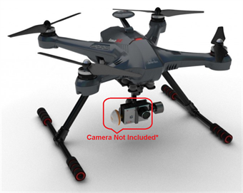 Picture of Walkera Scout X4 BNF GPS Quadcopter Drone w/ Ground Station, battery, charger but NO Radio, Camera, or Gimbal