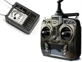 Picture of Walkera QR Ladybird V1 6-Axis 5.8Ghz FPV Devo 8S Transmitter Controller Remote Control & RX802 Receiver Combo