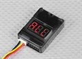 Picture of JJRC 1000A LiPo Battery Low Voltage Alarm Buzzer Tester Checker 1S-8S