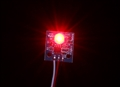 Picture of RED LED PCB Strobe Ball Light (12V) for RC Aircraft