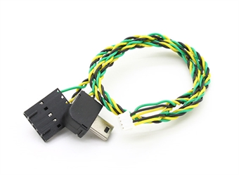 Picture of GoPro Hero 4, 3+ or 3 FPV AV Connector - Charging Cable - USB to FPV Tx Connector Mini Molex plug