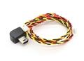 Picture of GoPro Hero 3 White Connector: USB to 4 pin mini Molex / 3 pin mini Molex