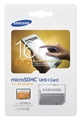 Picture of Samsung Evo 16GB Micro SD Memory Card Ultra Class 10 SDHC up to 48MB/s with Adapter