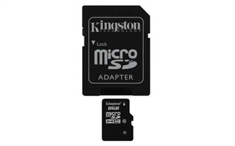 Picture of T-Mobile LG G3 8GB Micro SD Memory Card Flash TF Storage Card with Adapter