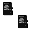 Picture of 2 x Quantity of Samsung Galaxy Note 2 8GB Micro SD Memory Card Flash TF Storage Card with Adapter