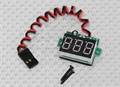 Picture of Walkera Scout X4 FPV On-Board LED RX Battery Voltage Display Checker JR Connector 3-30V RC
