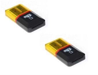 Picture of 2 x Quantity of Motorola A1000 Micro SD Card Reader Up to 32GB