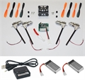 Picture of Walkera Devo Compatible V2 BNF ORANGE & BLACK 32MPH Mini Quadcopter EASY BUILD Kit 2.4Ghz Easy to Fly, Upgrade, Repair! Flips & Rolls (No Canopy) 5 Channels