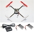 Picture of Walkera V2 BNF Mini Quadcopter White & Red 32MPH Binds to Walkera Devo 2.4Ghz Easy to Fly, Upgrade, Repair! Flips & Rolls (No Canopy) 5 Channels
