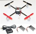 Picture of Walkera V2 BNF Mini Quadcopter Red & Black 32MPH Binds to Walkera Devo 2.4Ghz Easy to Fly, Upgrade, Repair! Flips & Rolls (No Canopy) 5 Channels