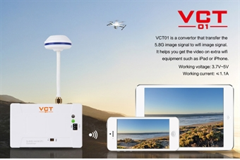 Picture of Walkera VCT-01 5.8Ghz to WiFi Converter for Mobile Video / Photo Live Feed