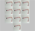 Picture of JST-XH 6S Wire Extension 20cm 10 pack Cable Leads