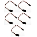 Picture of (5X) Servo Lead Extension 22AWG 15cm (Futuba) Wire 5pcs