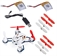 Picture of Hubsan Q4 Nano H111 Quadcopter BNF 2x Battery 2x Propellers (NO REMOTE)