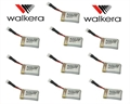 Picture of 10 x Quantity of DBPower RC Quadcopter Drone 3.7v 240mAh Lipo Battery Rechargeable Power Pack