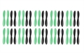 Picture of 10 x Quantity of Eachine X6 Hexacopter Propeller Blades Props Rotor Set Main Blades Black and Green